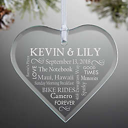 Our Life Together Couple's Christmas Ornament