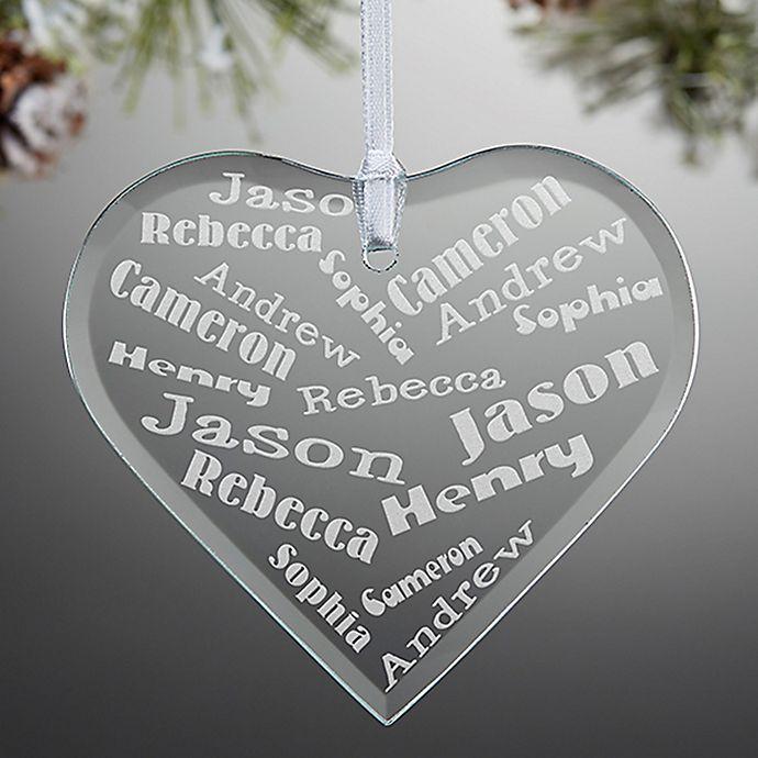 Alternate image 1 for Her Heart of Love Heart Christmas Ornament