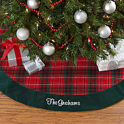 plaid christmas decor bed bath beyond