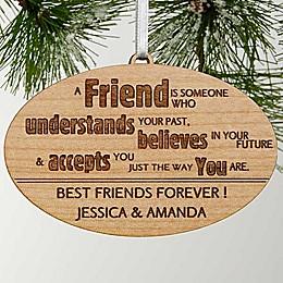 Forever Friend Christmas Ornament
