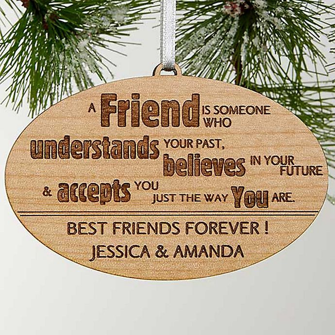 Forever Friend Christmas Ornament | Bed Bath & Beyond