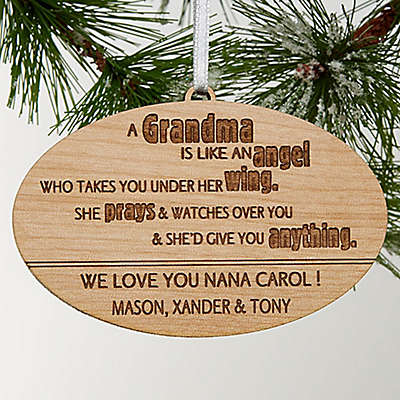 Wonderful Grandma Christmas Ornament