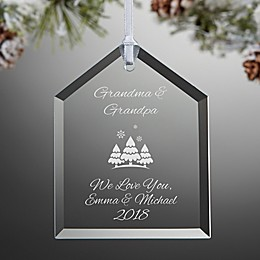 Create Your Own House Christmas Ornament