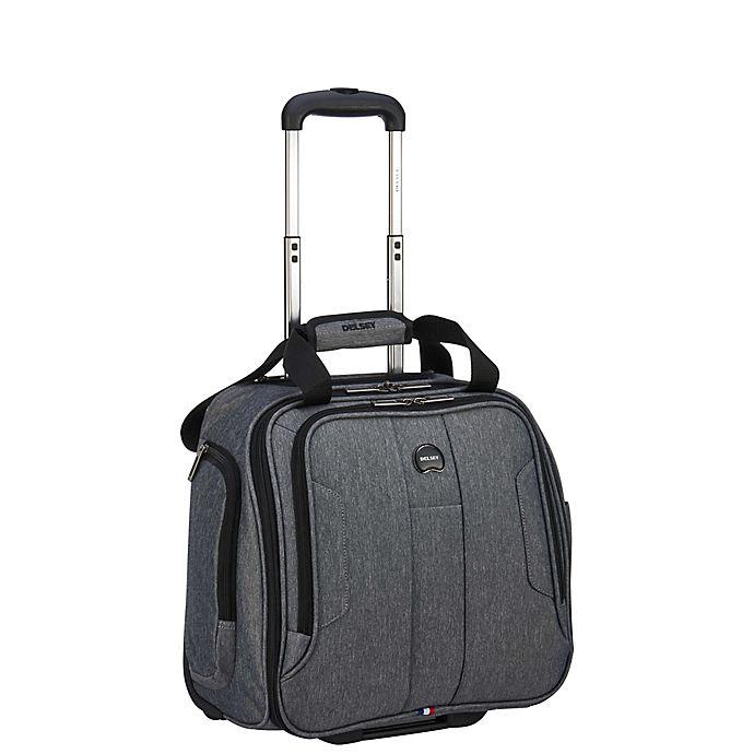 Alternate image 1 for DELSEY PARIS Depart 2.0 Underseat Luggage in Heather Grey