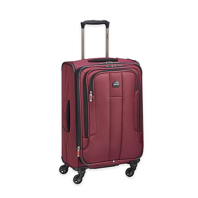 Alternate image 1 for DELSEY PARIS Depart 2.0 21-Inch Spinner Carry-on Luggage in Black Cherry