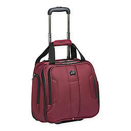 DELSEY PARIS Depart 2.0 Underseat Luggage in Black Cherry