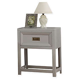 Campaign Wooden Nightstand
