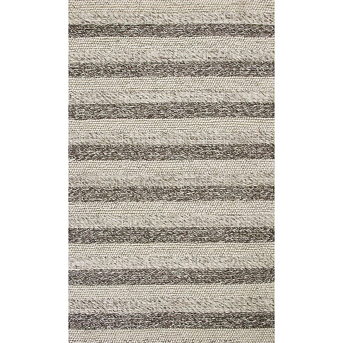 Alternate image 1 for KAS Cortico Landscape 7-Foot 6-Inch x 9-Foot 6-Inch Area Rug in Grey/White
