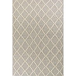 KAS Cortico Diamonds Area Rug in Grey