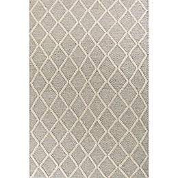KAS Cortico Diamonds Area Rug in Grey