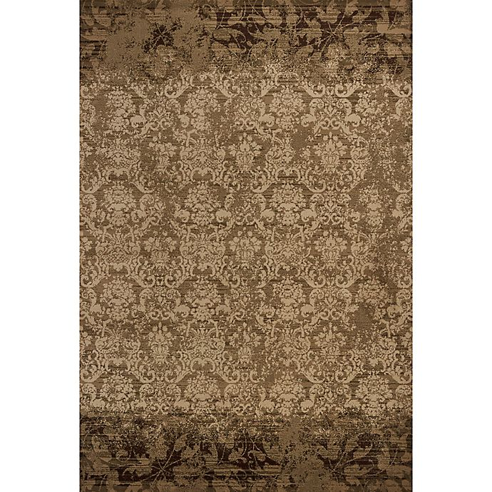 Alternate image 1 for KAS Heritage Delaney 7-Foot 7-Inch x 10-Foot 10-Inch Area Rug in Olive