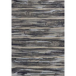 KAS Illusions Landscape Rug in Grey
