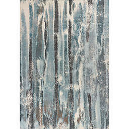 KAS Illusions Moderne Rug in Teal