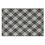Mohawk Home® Signature Diamond Cross 30-Inch x 46-Inch Accent Rug in Denim/Cream