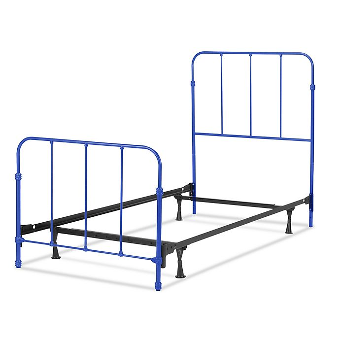 Alternate image 1 for Fashion Bed Group Nolan Twin Metal Kids Bed in Cobalt Blue