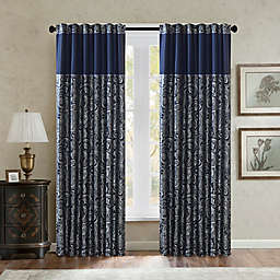 Madison Park Aubrey Rod Pocket/Back Tabs Window Curtain Panel Pair