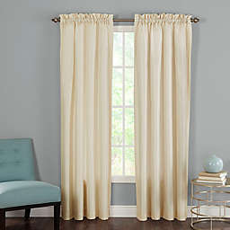Heritage Landing Rod Pocket Window Curtain Panel Pair