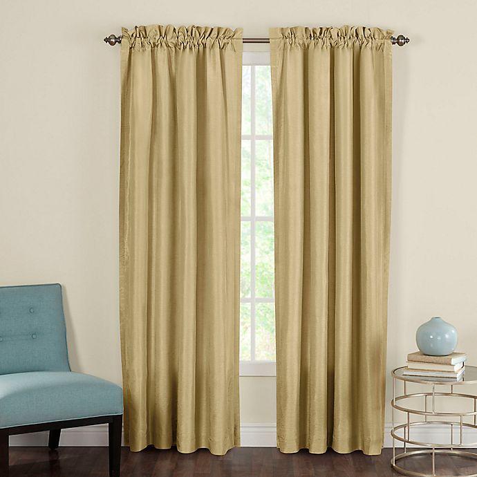 Alternate image 1 for Heritage Landing Rod Pocket Window Curtain Panel Pair
