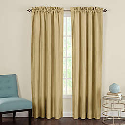 Heritage Landing Rod Pocket Window Curtain Panel Pair