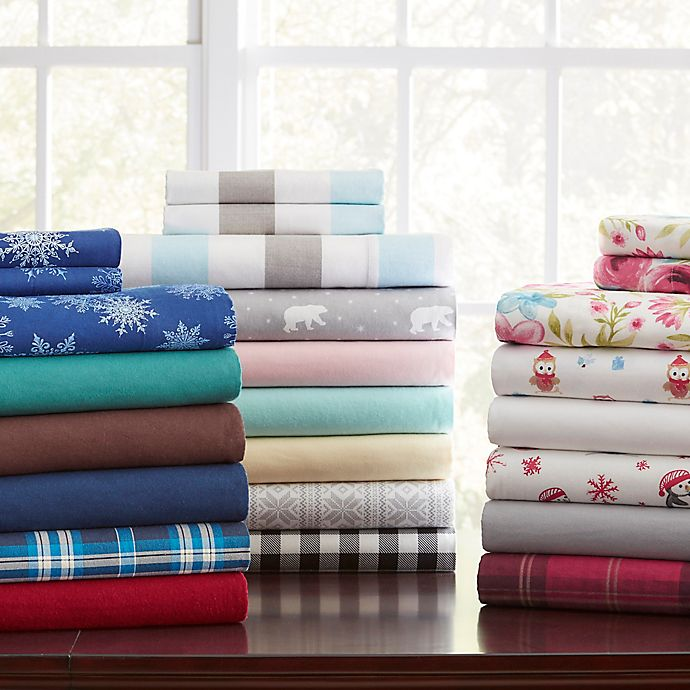 Pointehaven 175 Gsm Flannel Sheet Set Bed Bath Beyond