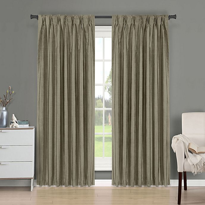 Alternate image 1 for Brielle Fortune Back Tab Room Darkening Window Curtain Panel