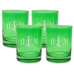 Carved Solutions Old Fashioned Glasses (Set of 4)