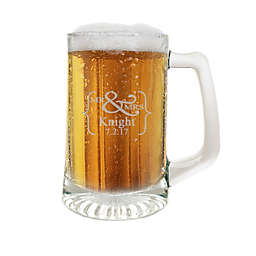Carved Solutions Mr. & Mrs. Glass Sport Mug