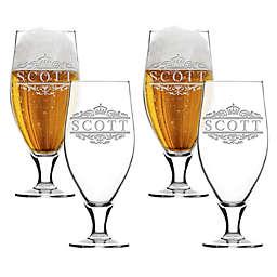 Carved Solutions Scott Cervoise Glasses (Set of 4)