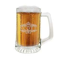 Carved Solutions Scott Glass Sports Mug