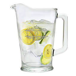 Carved Solutions Scott Glass Pitcher