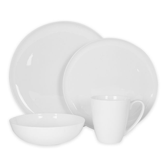 Alternate image 1 for Nevaeh White® by Fitz and Floyd® Coupe Dinnerware Collection