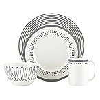kate spade new york Charlotte Street™ East 4-Piece Place Setting in Slate
