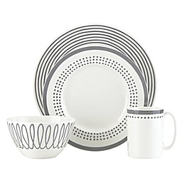 kate spade new york Charlotte Street™ East Dinnerware Collection in Slate