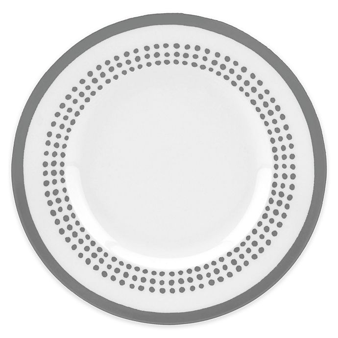 Alternate image 1 for kate spade new york Charlotte Street™ East Accent Plate in Slate