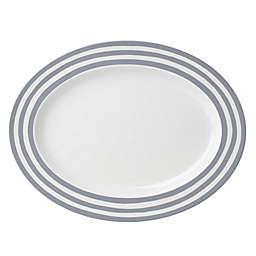 kate spade new york Charlotte Street™ 17-Inch Oval Platter in Slate