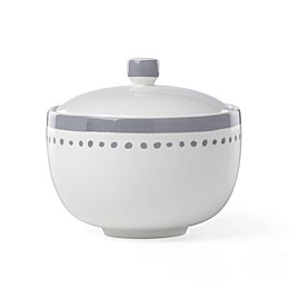 kate spade new york Charlotte Street™ Covered Sugar Bowl in Slate