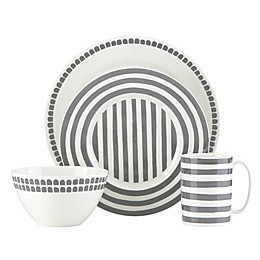 kate spade new york Charlotte Street™ North Dinnerware Collection in Slate