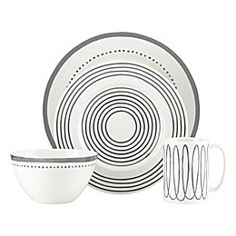 kate spade new york Charlotte Street™ West 4-Piece Place Setting in Slate