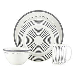 kate spade new york Charlotte Street™ West Dinnerware Collection in Slate