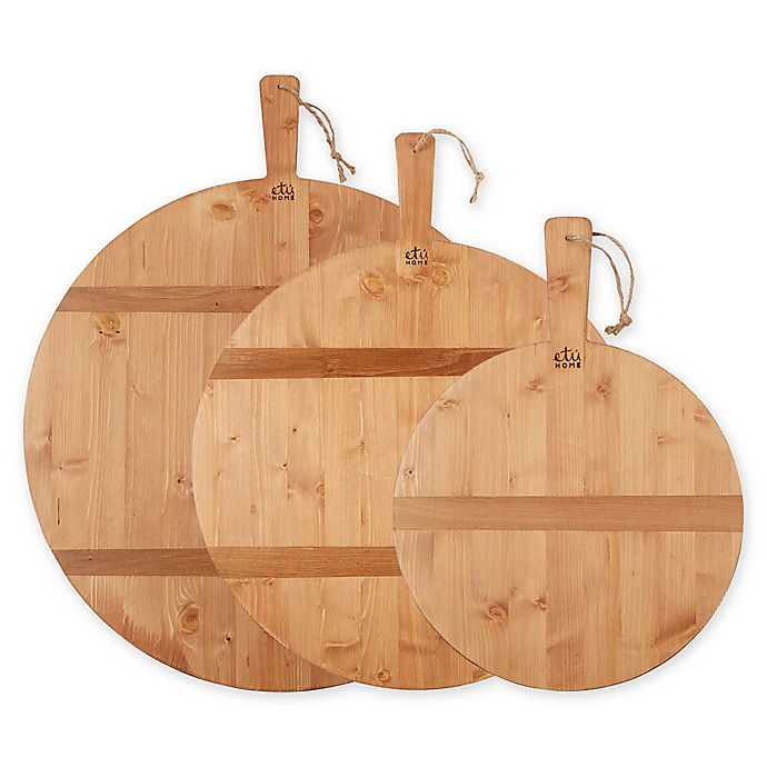 Alternate image 1 for etuHOME® Reclaimed Wood Charcuterie Board