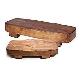etuHOME® Rectangular Reclaimed Wood Trivet