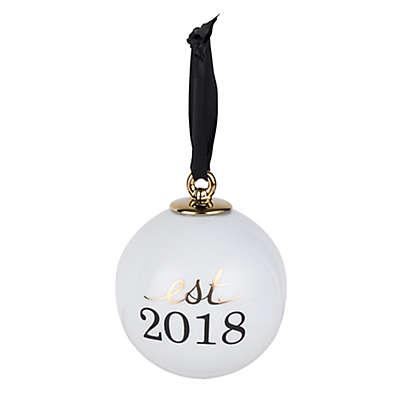 "Olivia & Oliver ""Est. 2018"" Christmas Ornament"