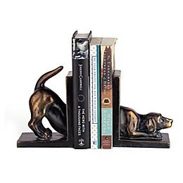 Danya B. Labrador Dog Bookend Set in Bronze