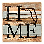 Sweet Bird & Co. Florida Home State Reclaimed Wood Wall Art