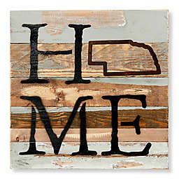 Sweet Bird & Co. Nebraska Home State Reclaimed Wood Wall Art