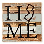 Sweet Bird & Co. New Jersey Home State Reclaimed Wood Wall Art
