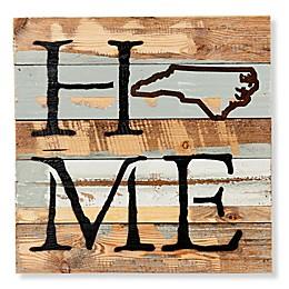 Sweet Bird & Co. North Carolina Home State Reclaimed Wood Wall Art