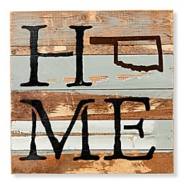 Sweet Bird & Co. Oklahoma Home State Reclaimed Wood Wall Art