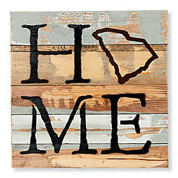 Sweet Bird & Co. South Carolina Home State Reclaimed Wood Wall Art