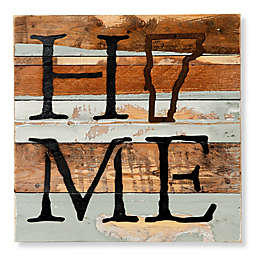 Sweet Bird & Co. Vermont Home State Reclaimed Wood Wall Art